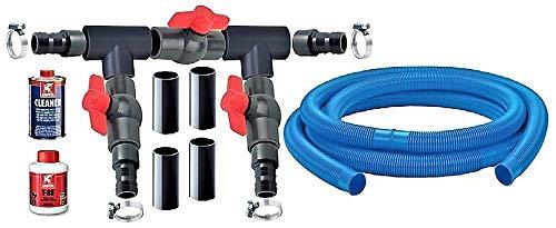 Astral Pool - Wärmepumpe Bypass Basic Komplettes Bypass-Set für Wärmepumpe Schwimmbadheizung Pool Heizung