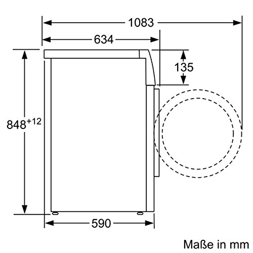 Siemens iQ700 WM16W541 Waschmaschine