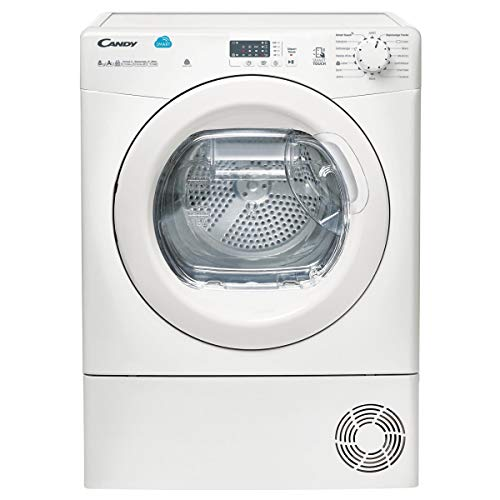 puissant Candy CSH8A2LE-47 Freestanding Front Loader White 8kg A ++ – Dryer Drum (Freestanding, Front Loader, Heat Pump, White, Button, Rotary, Left)