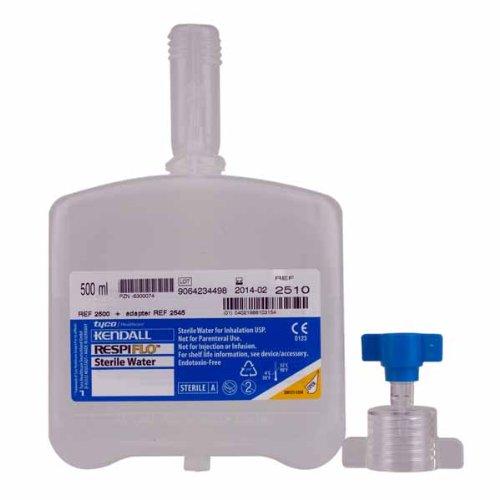 Kendall Sterilwasser Respiflo steriles Wasser 500 ml , 15 Stk. Karton