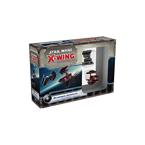 Fantasy Flight Games- Sw x-wing: veteranos imperiales - español, Color (Fantsy...