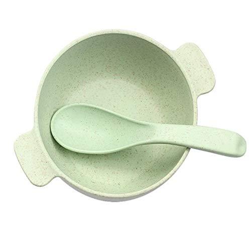 GJDBBLY Babybordjes Babyvoeding Voedsel Serviesgoed, Kindereten, Milieuvriendelijk Kindertrainingservies Bowl