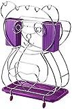 1yess Portacuchillas Multifuncional Cuchillo de Cocina Tabla de Cortar Chopper Cuchillo Cortador de Almacenamiento Plataforma Plataforma púrpura