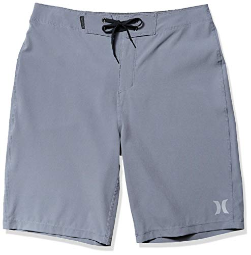 Hurley Men's Phantom One and Only Board Shorts, Cool Grey, 38