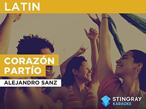 Corazón partío in the Style of Alejandro Sanz