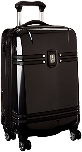 Travelpro Crew 10 21 Inch Hardside Spinner, Black, One Size