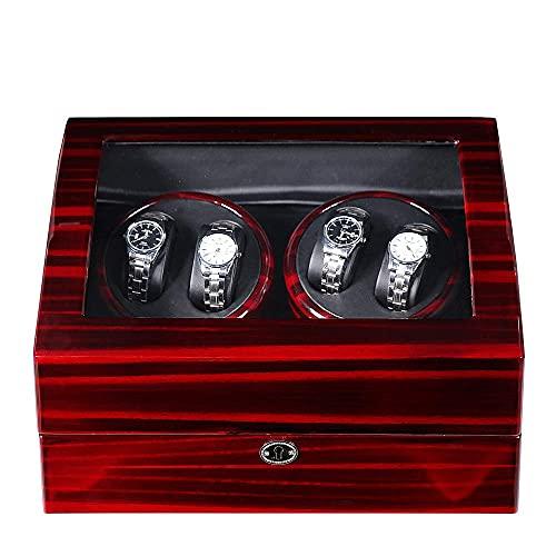 Luxus 4+6 Automatik Uhrenbeweger Schmuck Aufbewahrungskoffer Uhren Display Box