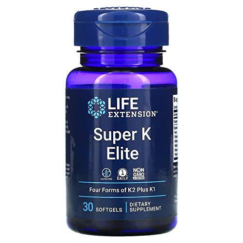 Life Extension Super K Elite, 30 Softgel, 200 g, 02335