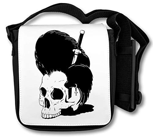 Elvis Presley Skull Schultertasche