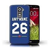 eSwish Personnalisé Football Américain Jersey Personnalisé Coque pour LG G2 Mini/D620 / Bleu...
