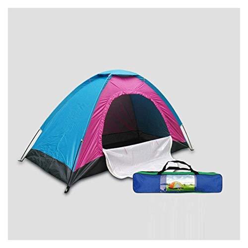 Tienda de Playa de Verano Tiendas al Aire Libre Protable Camping Playa Carpa Impermeable para el Refugio de Sol Viajando Senderismo (Color : Blue, Size : 200x300x150 cm)