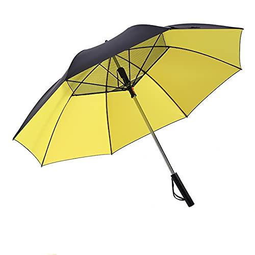 N\\B Außenseite Sonnenschirme, Sonnenschirme mit Fans, elektrische Fan-Regenschirme, Dual-Nutzung an sonnigen und regnerischen Tagen, Anti-Ultraviolett, einfach zu bedienen, für Reisen und Einkaufen