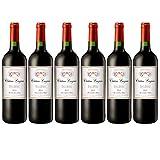 Château Lieujean 2015, appellation haut medoc, vin rouge, lot de 6 bouteilles