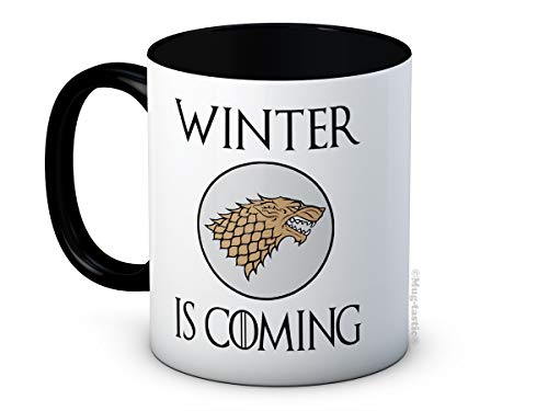 Winter is Coming - Stark Sheild Sigil - Game of Thrones - Hochwertigen Kaffeetasse