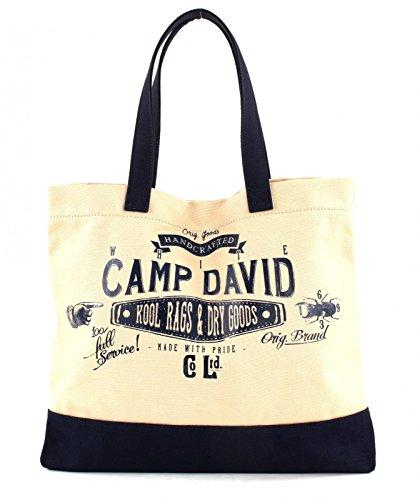 Camp David Blue Creek Shopper Offwhite