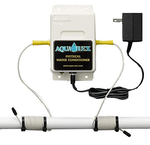 """It's the best""""No Salt Softener"""" for the whole house alternative to a water softener system. Aqua-Rex Wk1 is for Gas Heaters and City Water"""