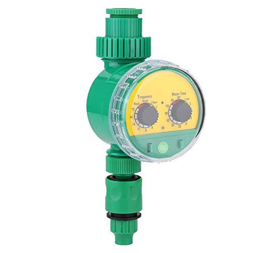 Mumusuki Temporizador de Agua del Grifo de la Manguera, Controlador Inteligente de riego de Agua G1-1/4 DN32 para Sistema de Temporizador de riego automático para Plantas de jardín