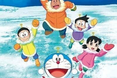Lanxing 300/500/1000/1500 Piezas de un Rompecabezas de Madera del Rompecabezas Manga Doraemon Puzzle for Adultos descompresión niños Juguetes educativos (Size : 500pc)