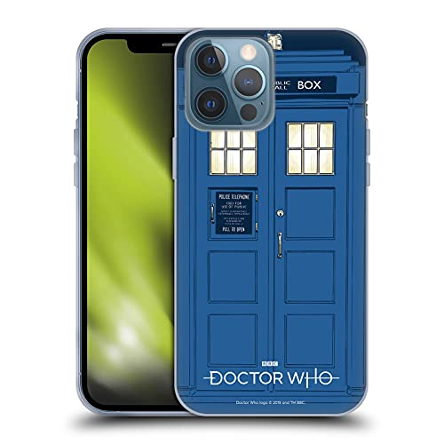 Head Case Designs Licenciado Oficialmente Doctor Who La Tardis Gráficos de la Temporada 11 Carcasa de Gel de Silicona Compatible con Apple iPhone 13 Pro MAX