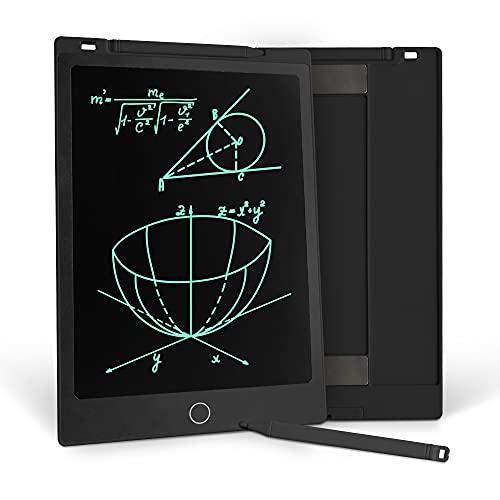 Richgv 11 Zoll LCD Schreibtablett, LCDWriting Tablet, EIN Schlüssel zum Löschen Funktion, Doodle Malen Board, Ultradünn und tragbar, Geschenk für Kinder, Schul Familie Erwachsene Büro (Schwarz)…