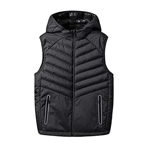 Winter paar Gilet gewatteerde jas casual mouwloos dikker vest ademende vest Gilet - voor mannen en vrouwen - M - 6XL