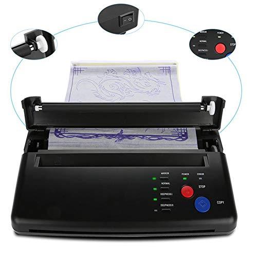 Professionele het Documentmachine van het Kopieerapparaat Thermische Masker, de Machine van de het Kopieerapparaatmasker van de Tatoegeringsoverdracht Permanente overdrachtmachine(EU 220V)