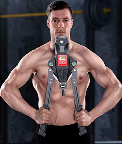 GOLDEN MANGO Einstellbare Arm-Stärke-Maschine 0-300KG Haushalt Chest Expander Muskel Schulter Ausbildung Fitnessgeräte Arm Verbesserte Sport Enhancer Grip-Stick Bauchmuskeln Generator