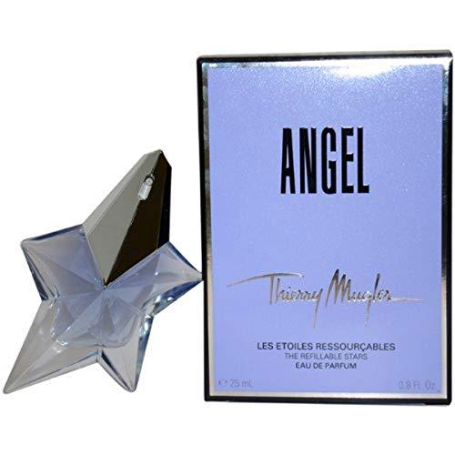 Thierry Mugler Angel Eau De Parfum Refillable Spray for Women, 0.8 Ounce
