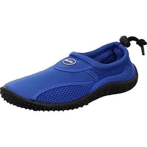 Fashy Damen Cubagua Aqua-Schuh Dusch- & Badeschuhe, Blau (blau-schwarz 53), 39