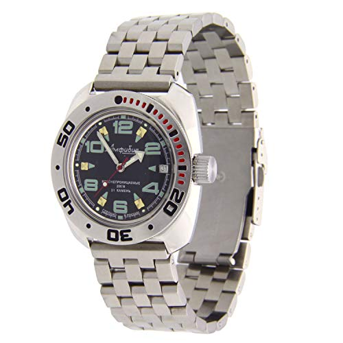 Vostok Amphibian #710640 Reloj automático 200WR Diver ES