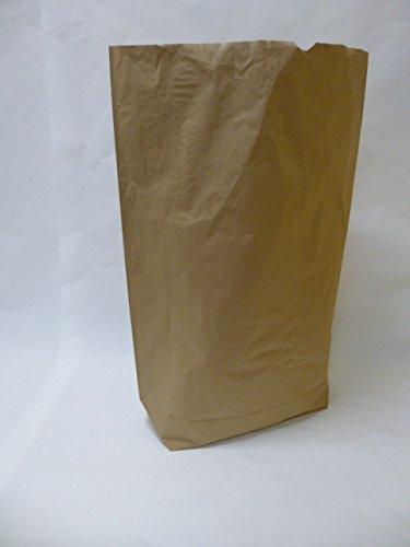Rodenbacher Papieragentur GmbH 25 St. Papier-Bioabfallsäcke 70l Format 55x85x20 cm Motiv: unbedruckt, 2lagig, mit extra Bodendeckblatt