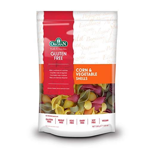 Orgran Gluten Free Corn & Vegetable Shells Pasta 8.8 oz