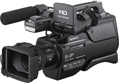 Sony HXR-MC2500E Shoulder Mount AVCHD Camcorder (PAL) (Internationa Model no Warranty) (Renewed)