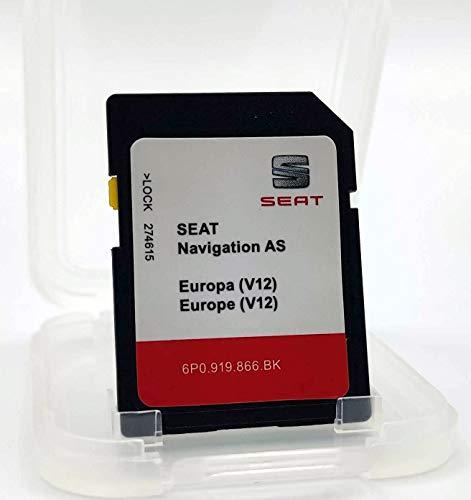 Karte SD Update Seat Navigation AS Europa 1 Version 12 / Seat Navi System 6P0 / MIB2 Version 2020-2021