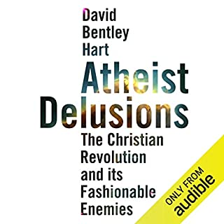 Atheist Delusions audiobook cover art