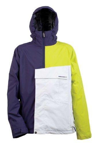 Nitro Snowboards Herren Jacke Funtime II, Ink/Citrus/White, L, 1121-872970_1125