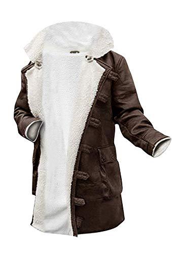 Men's Faux-shearling Overcoat