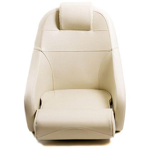 wellenshop Steuerstuhl Bootssitz Flip-Up Sitz mit...