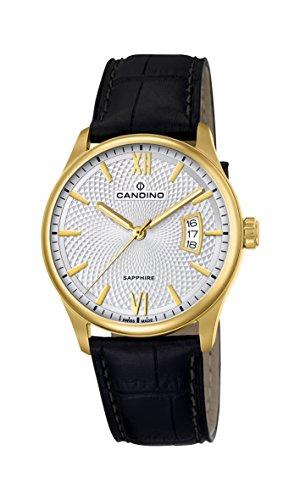 Candino Reloj Análogo clásico para Hombre de Cuarzo con Correa en Cuero C4693/1