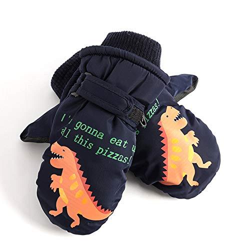 FitTrek Rękawiczki narciarskie dla dzieci – rękawiczki zimowe rękawiczki rękawiczki dziecięce wodoodporne – rękawiczki zimowe dla chłopców i dziewczynek w wieku 4 – 8 lat
