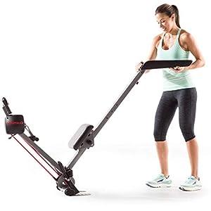 Weslo Flex Rower 3.0 Zentral Rudergerät/Verstellbarer Widerstand / 2 Übungen in 1: Muskulatur der Arme und Cardio-Training.