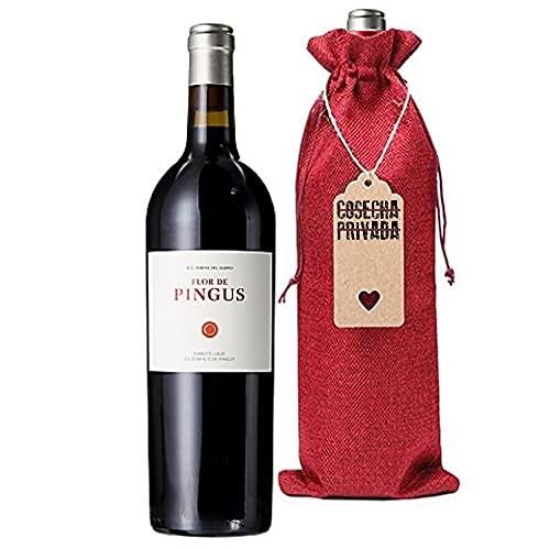 Flor de Pingus - Botella Regalo - Envío Gratis - Vino Tinto - Dominio de Pingus - Peter Sisseck - Seleccionado y enviado por Cosecha Privada