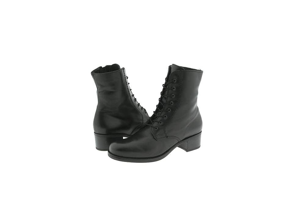 La Canadienne Palmina (Black Leather) Women's Waterproof Boots