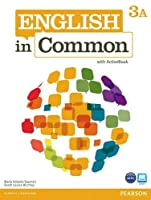 English in Common Level 3 Split Edition Student Book A and Workbook A with ActiveBook CD-ROM