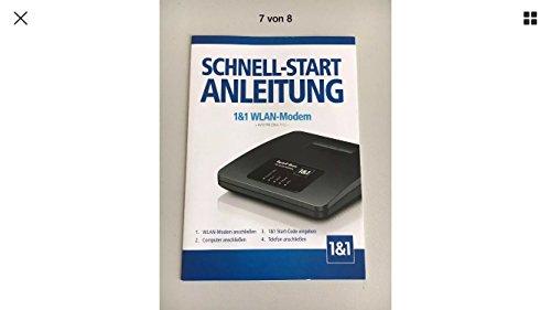 AVM FRITZ!Box 7312 WLAN-Modem 300MBit/s, Telefonanlage von 1&1 gelabelt.