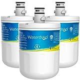 Waterdrop 5231JA2002A Refrigerator Water Filter, Replacement for LG LT500P, GEN11042FR-08, ADQ72910911, ADQ72910901, Kenmore 9890, 46-9890, LFX25974ST, LMX25964ST, LSC27925ST, Pack of 3