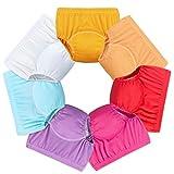 Baby Girls Training Underwear Toddler Girls Toilet Training Pants Underwear 7 Pack Cloth Diaper 3 Years Multicolor