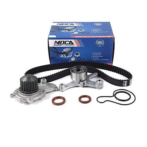 MOCA Timing Belt Water Pump Kit for 1996-2005 Dodge Neon & 1996-2005 Dodge Stratus & 2003-2005 Dodge SX & 1996-2001 Plymouth Neon 2.0L L4