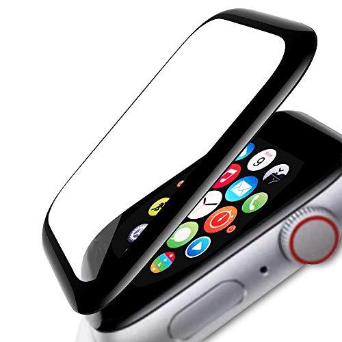 FANIER - Protector de pantalla para Apple Watch 42MM Series 3/2/1, 3D Full Cobertura Protector de pantalla de cristal templado para iWatch Series 3/2/1 42 mm [2 unidades]