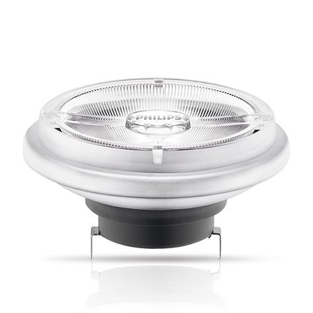 Philips 15-W-AR111-LED-lamp G53, warmwit, 12 V, 40 °, dimbaar